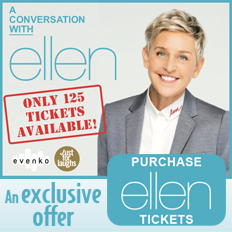A conversation with Ellen Degeneres